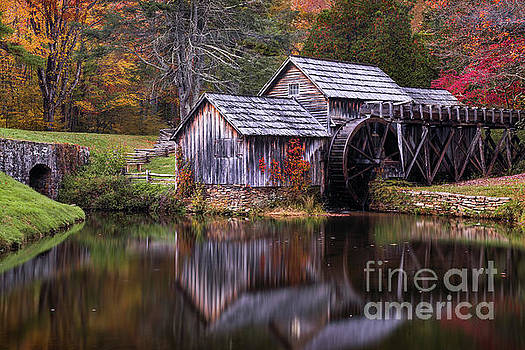 Autumn at Mabry Mill by Anthony Heflin