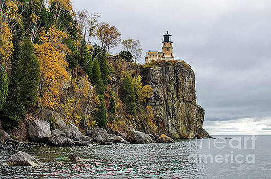 Autumn at Split Rock Lighthouse by Kassie Nelson