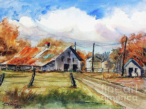 Autumn at the Farm by Ron Stephens