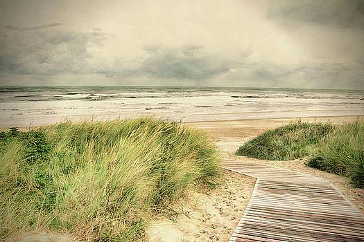 Autumn at the Sea by Nicole Frischlich