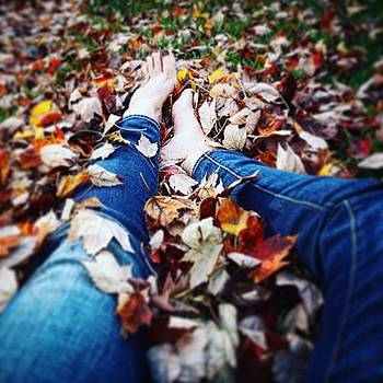 Barefoot in the Leaves by Sharon Halteman