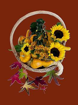 Autumn Basket by Rae Tucker