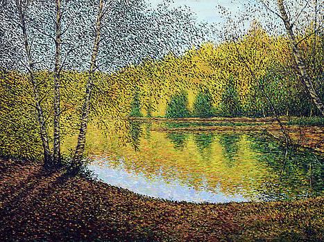 Autumn Birches by Eugene Kuperman