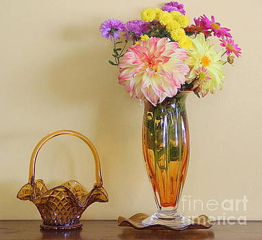 Autumn Blossoms - Still Life by Dora Sofia Caputo Photographic Art and Design