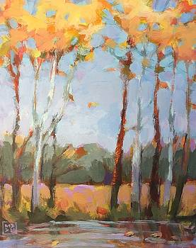 Autumn Breeze by Mary Brooking