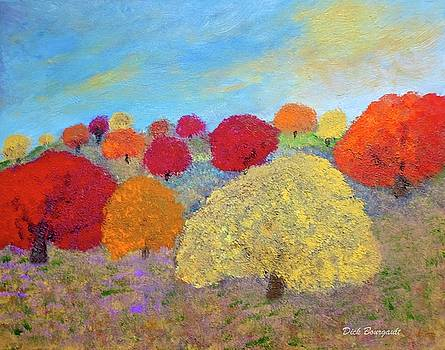 Autumn Bursts by Dick Bourgault