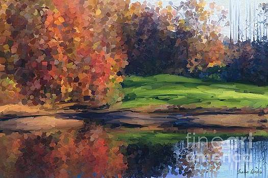 Autumn by water by Ivana Westin