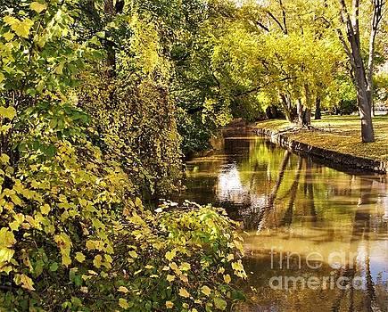 Autumn Canal             Mishawaka            Indiana by Rory Cubel