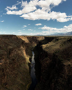 Autumn Clouds and Rio Grande, Taos County, NM by Troy Montemayor