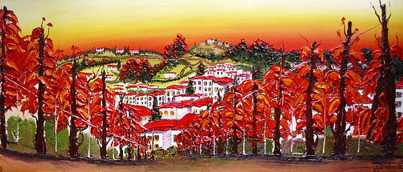 Autumn Colors Of Tuscany 1 by Portland Art Creations