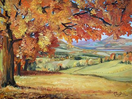 Autumn composition by Mona Davis