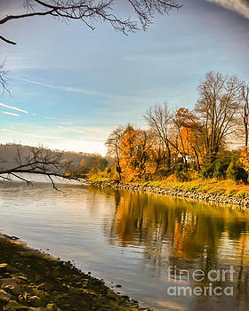 Autumn Cove at Claytor Lake State Park by Kerri Farley