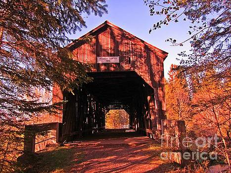 John Malone - Autumn Covered Bridge