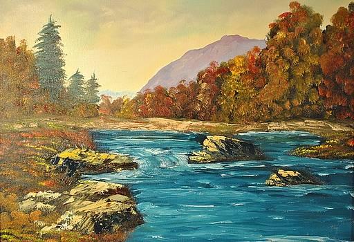 Autumn Creek by James Higgins