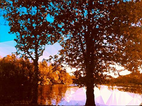 Autumn Crystal Light Lakeside by Patricia Taylor