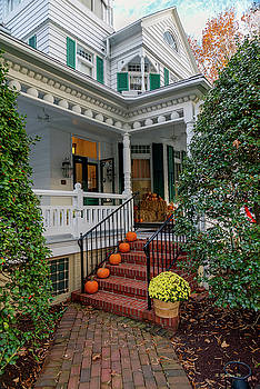Autumn Entrance by Brian Wallace