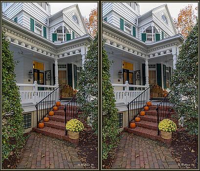 Autumn Entrance Decor by Brian Wallace