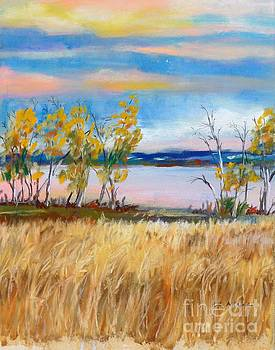 Autumn Evening Chatfield State Park by Cheryl Emerson Adams