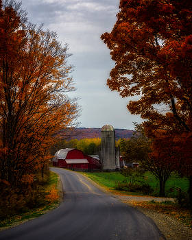 Chris Bordeleau - Autumn Farm