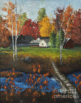 Autumn Farm by Jim Krug