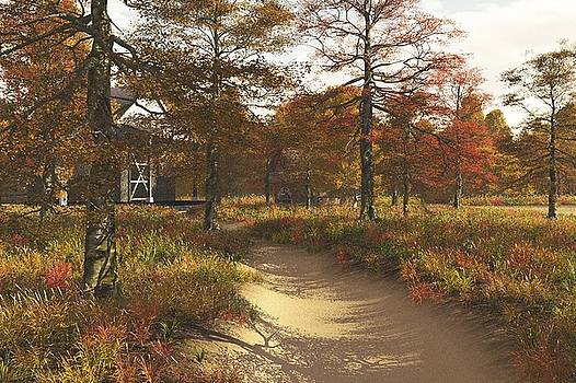Autumn Farmyard by Chris Bird
