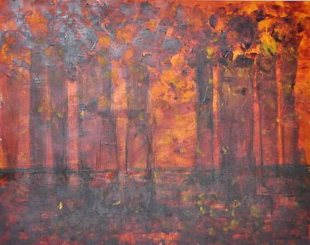 Autumn Fire  by Sonal Raje