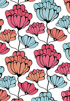Autumn Floral by Elizabeth Tuck