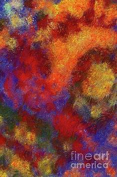 Tito - Autumn Flowers, Abstract Painting by Tito