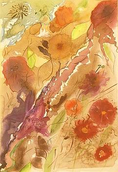 Autumn Flowers by Catrina louise  Attard