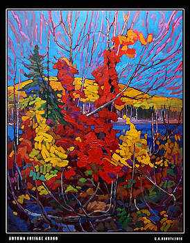 AUTUMN-FOLIAGE_after T.Thomson by C A Henry