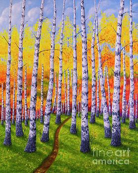Autumn forest 2 by Veikko Suikkanen