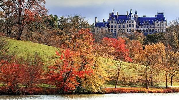Autumn From Biltmore Lagoon by Carol Montoya