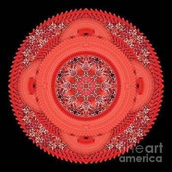 Autumn Glory Mandala by Karen Jordan Allen