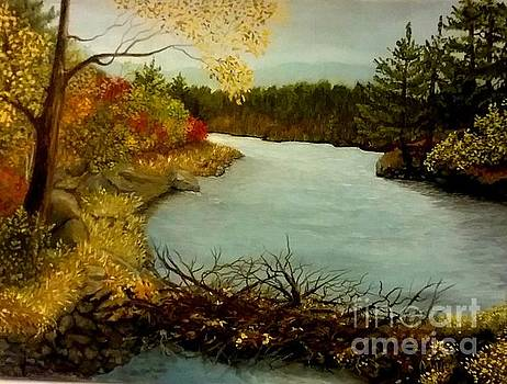 Autumn Glow by Peggy Miller