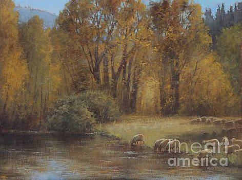 Autumn Grazing by Lori McNee