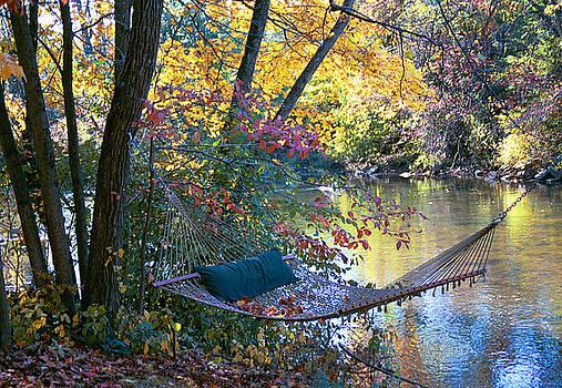 Autumn Hammock by Kelly S Andrews