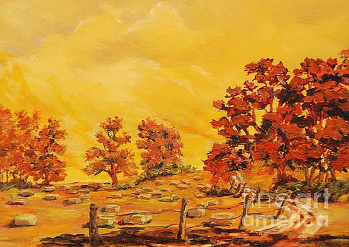 Autumn Haying by Gail Allen