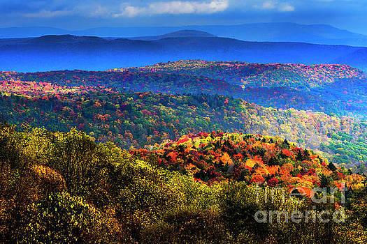 Autumn Highlands by Thomas R Fletcher