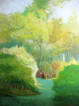 Autumn in Central Park by Zois Shuttie