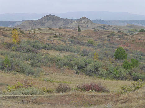 Autumn in Dakota Territory by Cris Fulton