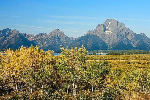 Autumn in Grand Teton National Park by Ram Vasudev