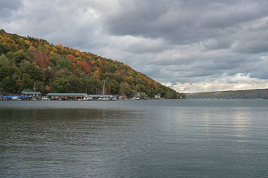 Autumn in Hammondsport by Joshua House