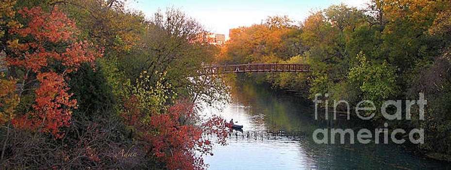 Felipe Adan Lerma - Autumn in Layers Austin Panorama