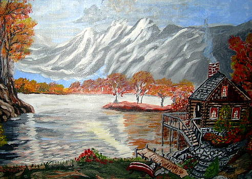 Autumn in Paradise Cove by Vickie Wooten