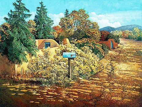 Autumn in Santa Fe by Donna Clair