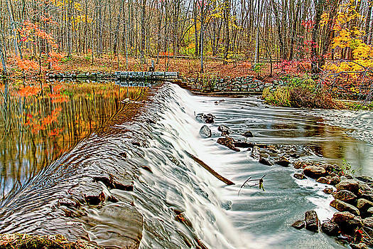 Autumn in Stanhope New Jersey by Geraldine Scull