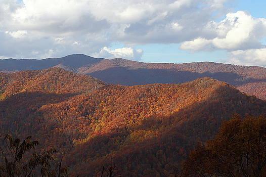 Autumn in the Appalachians by Jim Allsopp