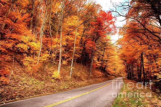 Autumn in the Blue Ridge of Virginia AP by Dan Carmichael