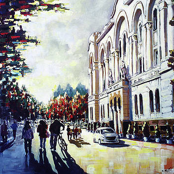 Autumn in the city by Zlatko Music