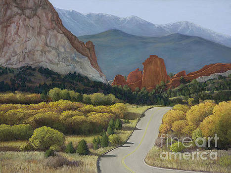 Autumn in the Garden of the Gods by Xenia Sease